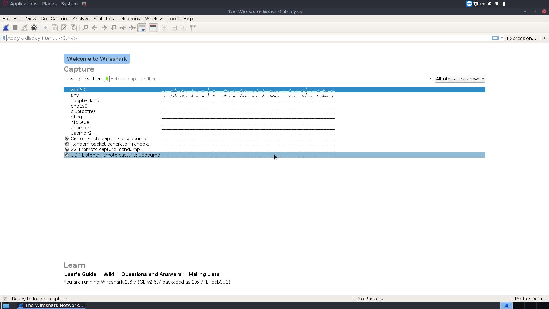 How to install WireShark on Debian/Ubuntu distros?