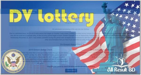 Apply to DV-Lottery (Diversity Visa)