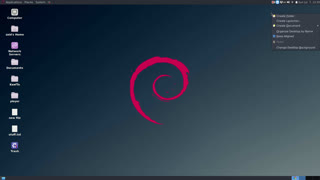 How to create an application shortcut on Debian and change it's icon? #keefto